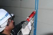 外壁サイディング シーリング施工