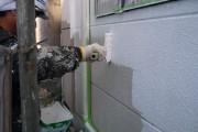 厚膜ホールド材 下塗り施工