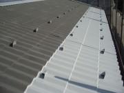 鋼板ルーフ エポキシ強力防錆材 下塗り