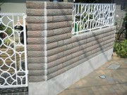 門塀の修繕
