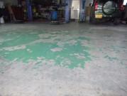 床面塗装 施工前
