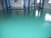 床面塗装 施工後