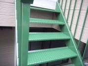 外階段 塗装後