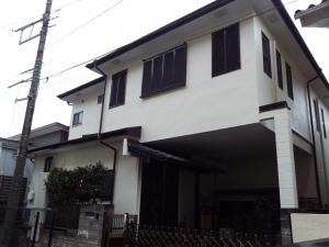 千葉県船橋市 外壁塗装屋根塗装の施工実績です