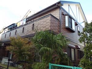 埼玉県春日部市の外壁塗装屋根塗装の施工実績 施工後