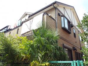 埼玉県春日部市の外壁塗装屋根塗装の施工実績 施工前
