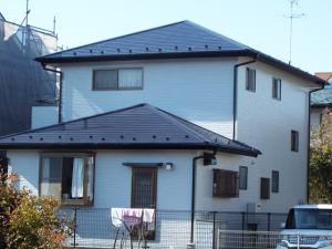 栃木県小山市 E様邸 外壁屋根塗装の施工例 施工後の写真