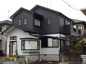 茨城県つくば市の外壁屋根塗装の施工後写真