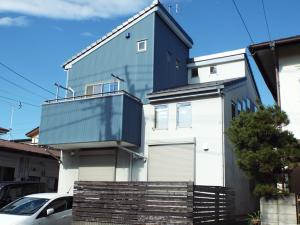 千葉県流山市の外壁屋根塗装の施工前写真
