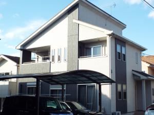 栃木県宇都宮市の外壁屋根塗装の施工例