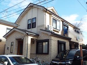 千葉県流山市の外壁塗装の施工例 施工前写真