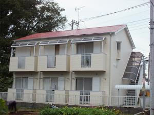 所沢のマンション外壁塗装の施工例 施工前
