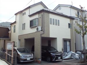 江戸川区の外壁塗装施工事例 施工後写真
