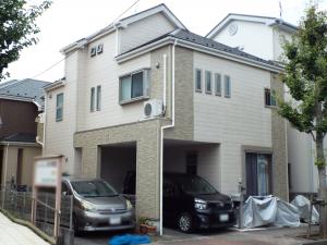 江戸川区の外壁塗装施工事例 施工前写真