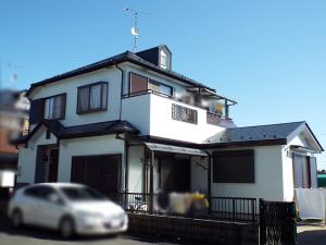 所沢市の外壁塗装 施工後写真