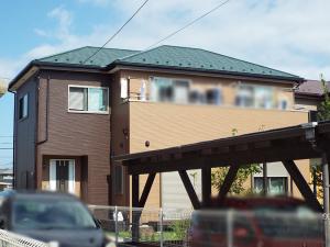 鶴ヶ島市の外壁塗装 施工後写真