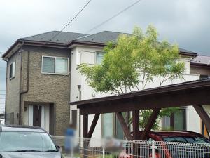 鶴ヶ島市の外壁塗装 施工前写真